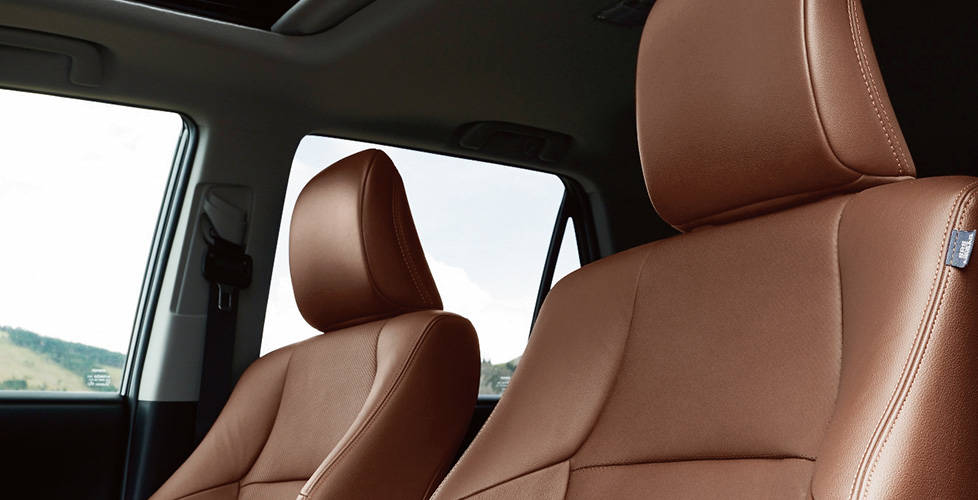 2017 Toyota 4Runner Heated and ventilated front seats