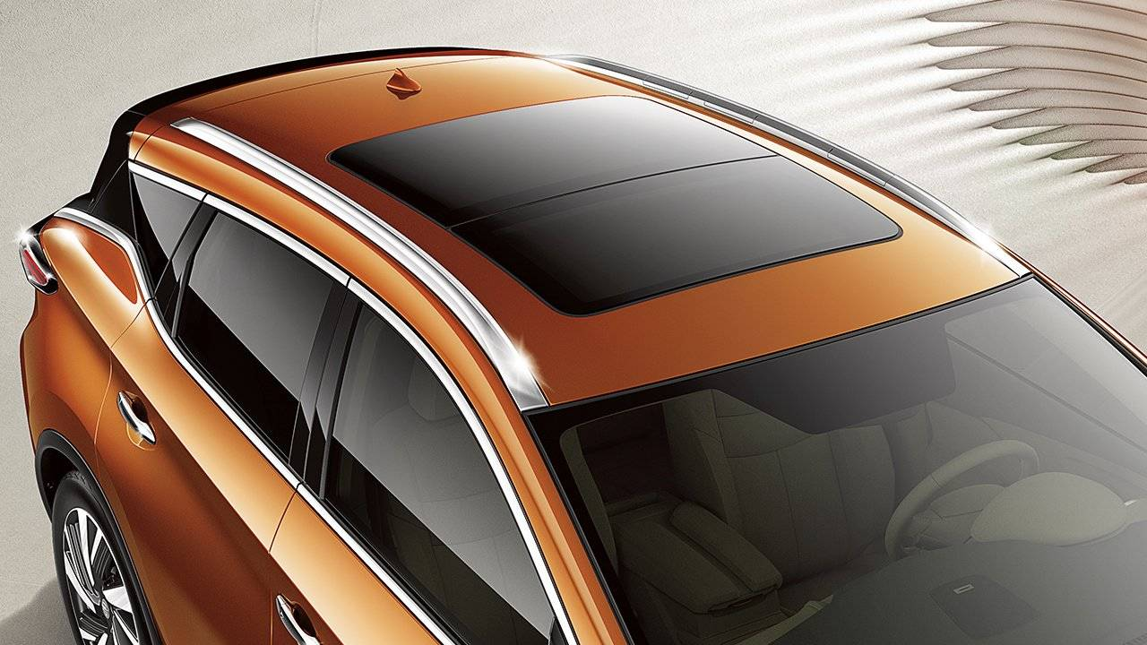 2017.5 Nissan Murano Power Panoramic Moonroof
