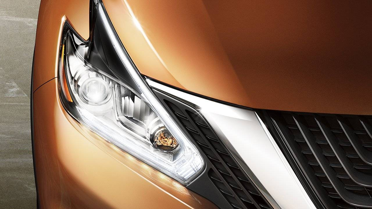2017.5 Nissan Murano Signature LED and Daytime Running Lights