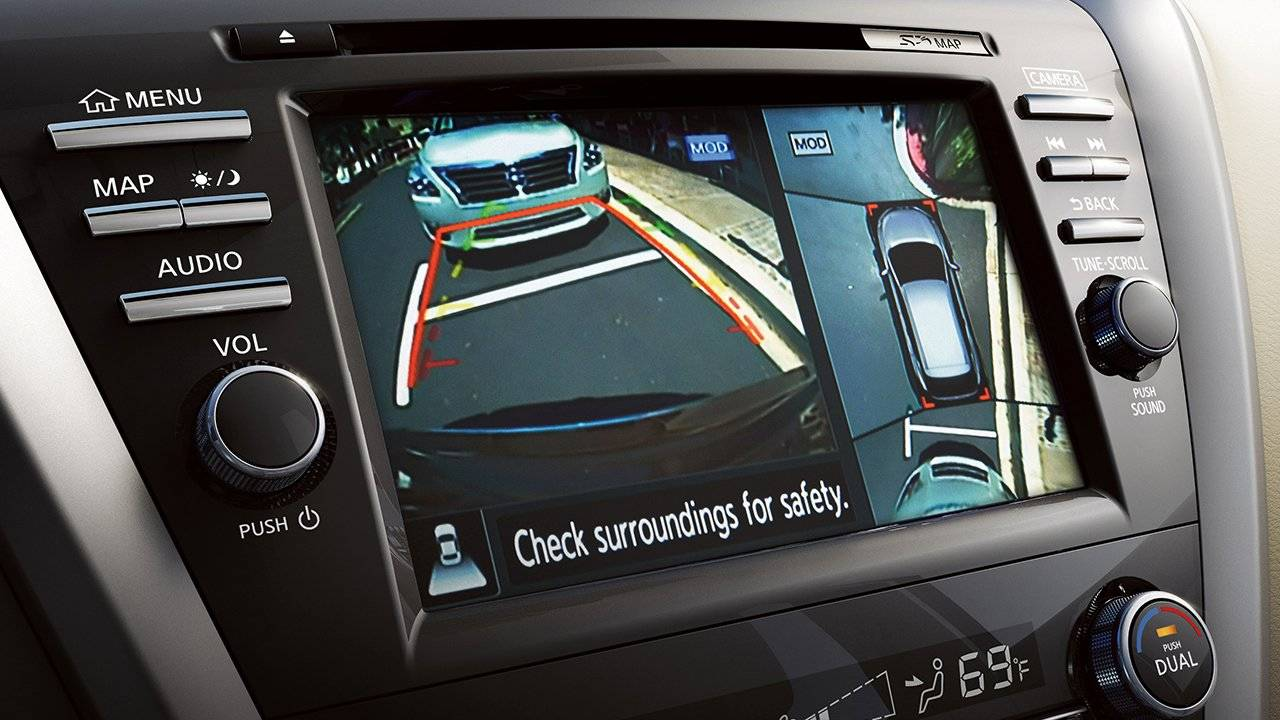 2017.5 Nissan Murano Around View� Monitor