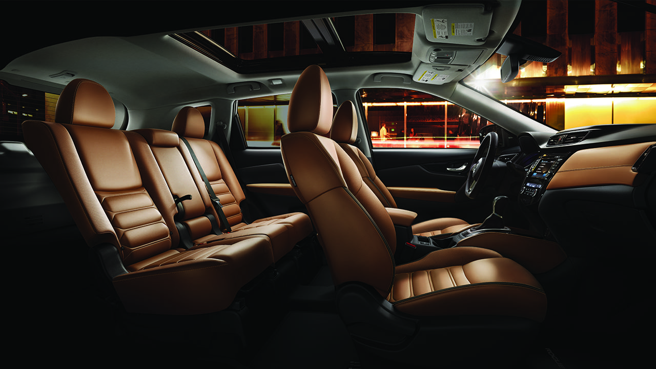 2017.5 Nissan Rogue Interior