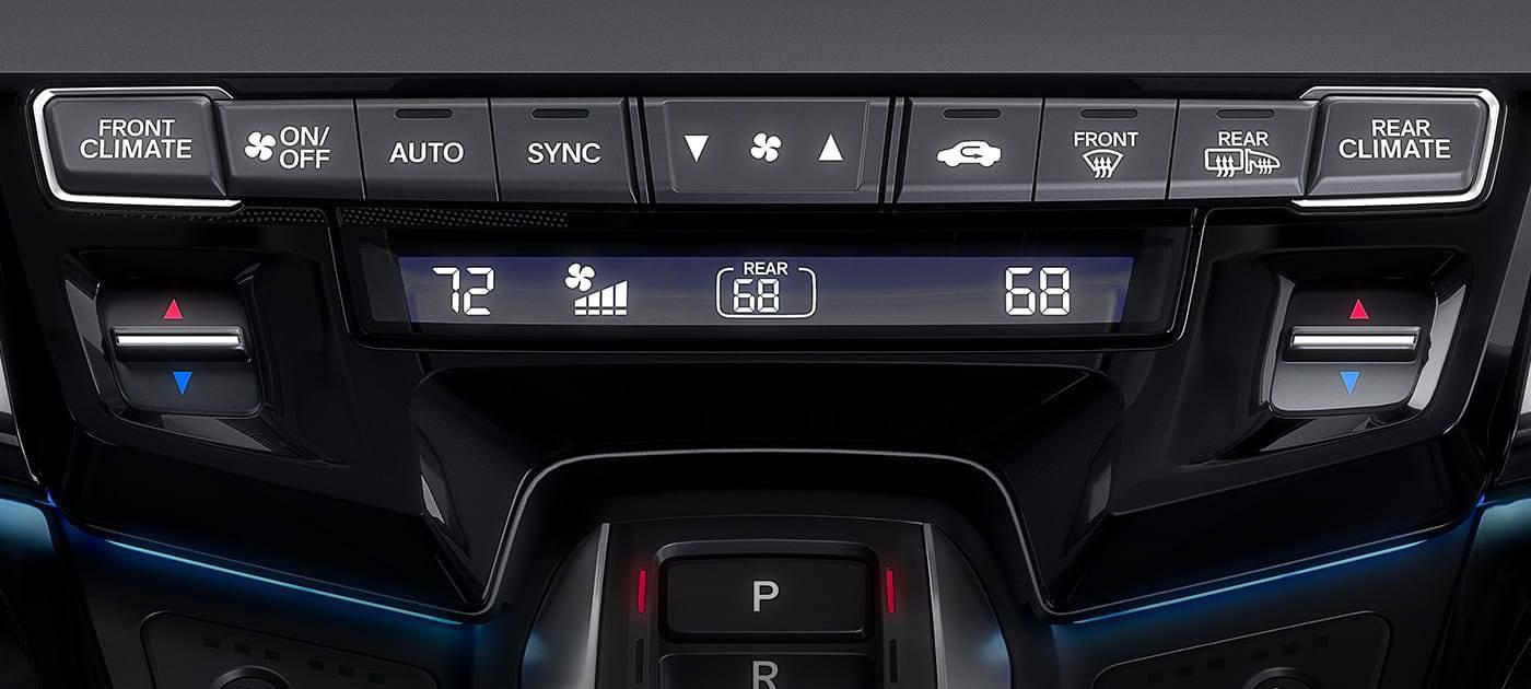 2018 Honda Odyssey Tri-Zone Climate Control
