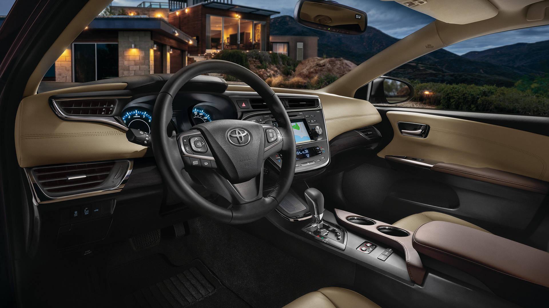 2018 Toyota Avalon Hybrid Interior