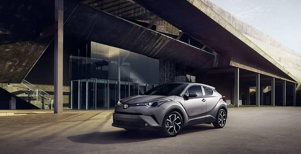 2018 Toyota C-HR Precision-Cut, Diamond-Like Exterior Styling