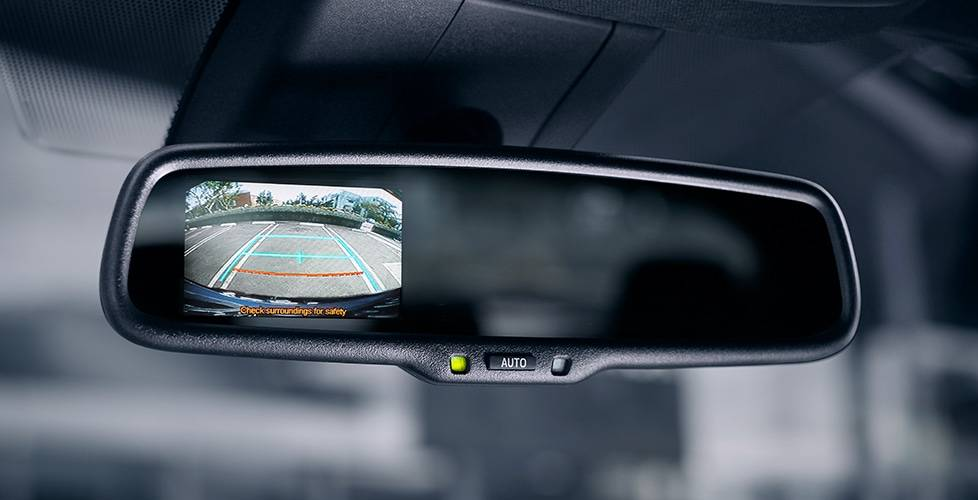2018 Toyota C-HR Standard Auto-Dimming Rearview Mirror With Integrated Backup Camera