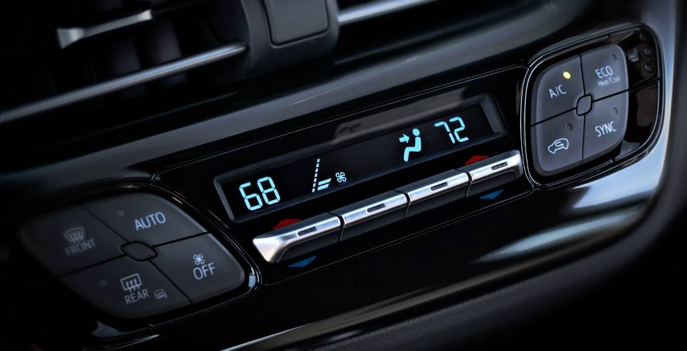 2018 Toyota C-HR Standard Dual Zone Automatic Climate Control