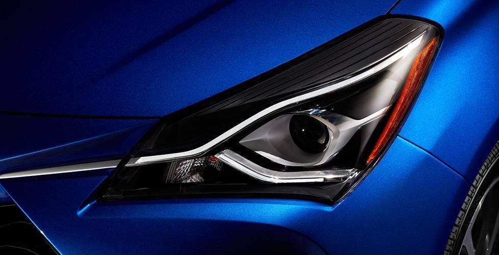 2018 Toyota Yaris LED DRL accent light bar