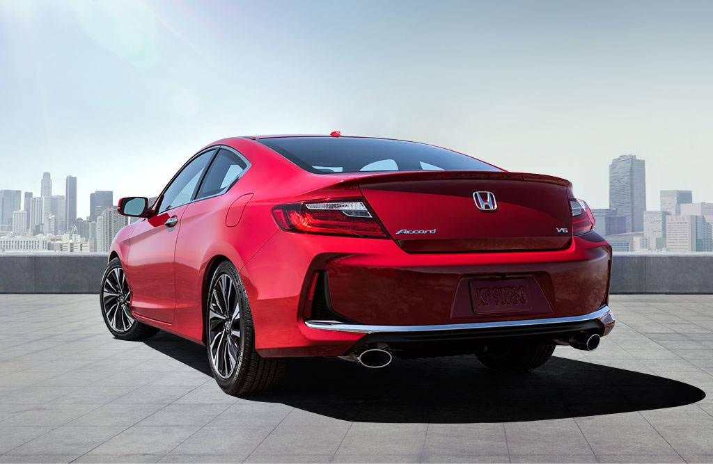 2017 Honda Accord Coupe Exterior
