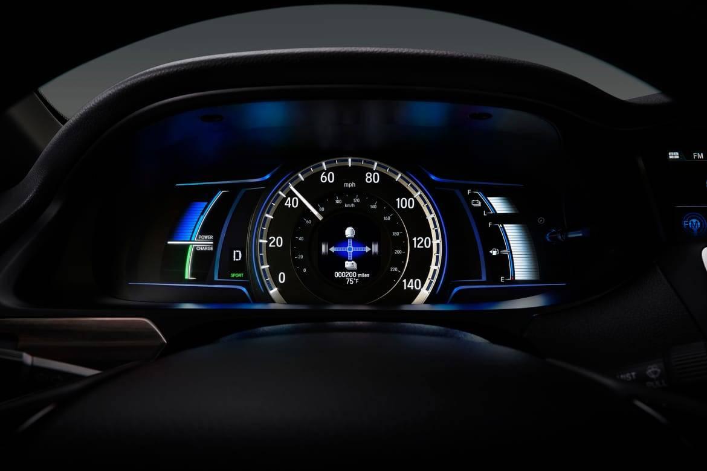 2017 Honda Accord Hybrid Impressive Instrumentation