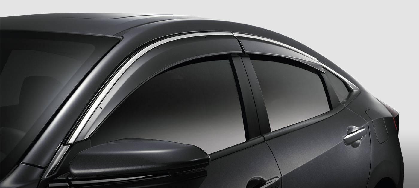 2017 Honda Civic Sedan Door Visors