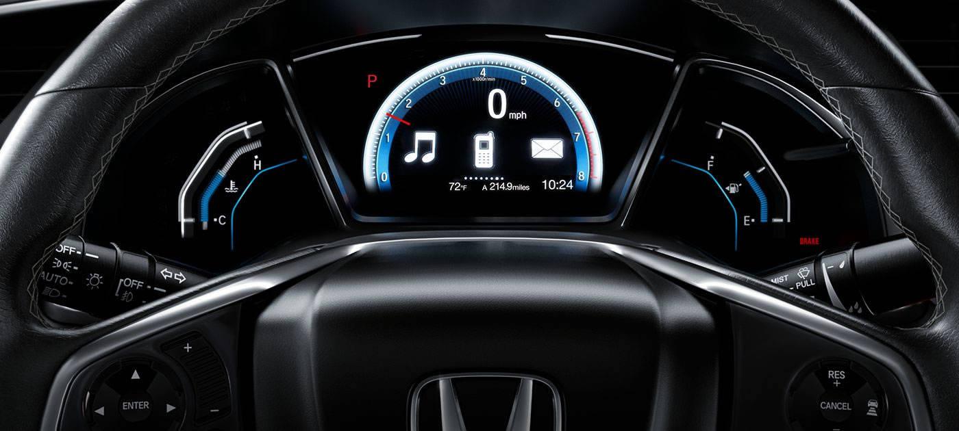 2017 Honda Civic Sedan All On Display