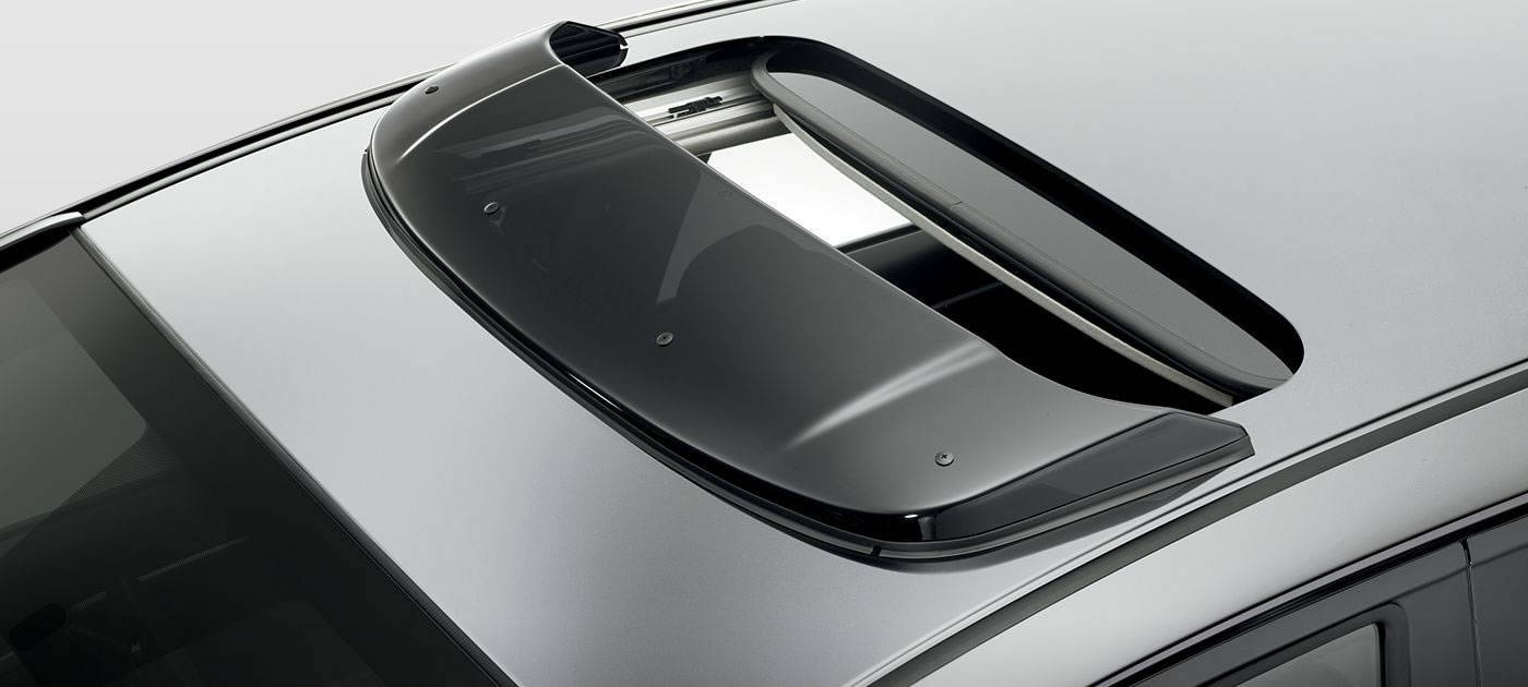 2017 Honda Fit Moonroof Visor