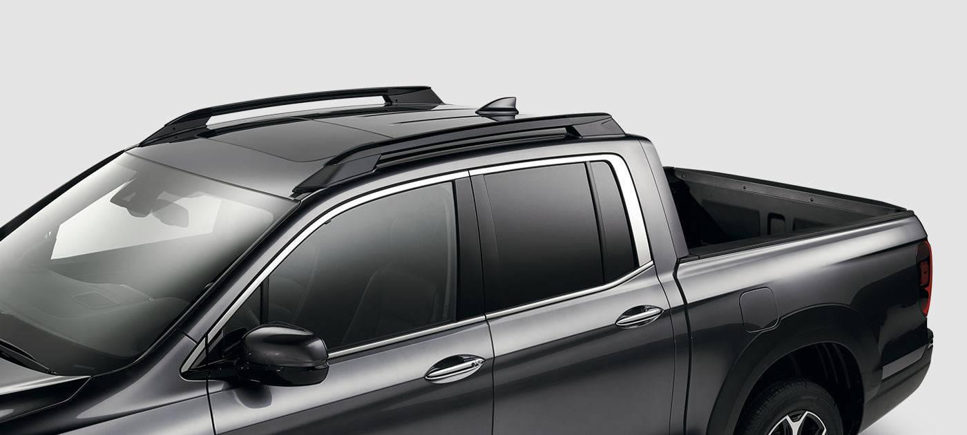 2017 Honda Ridgeline Roof Rails with Crossbars