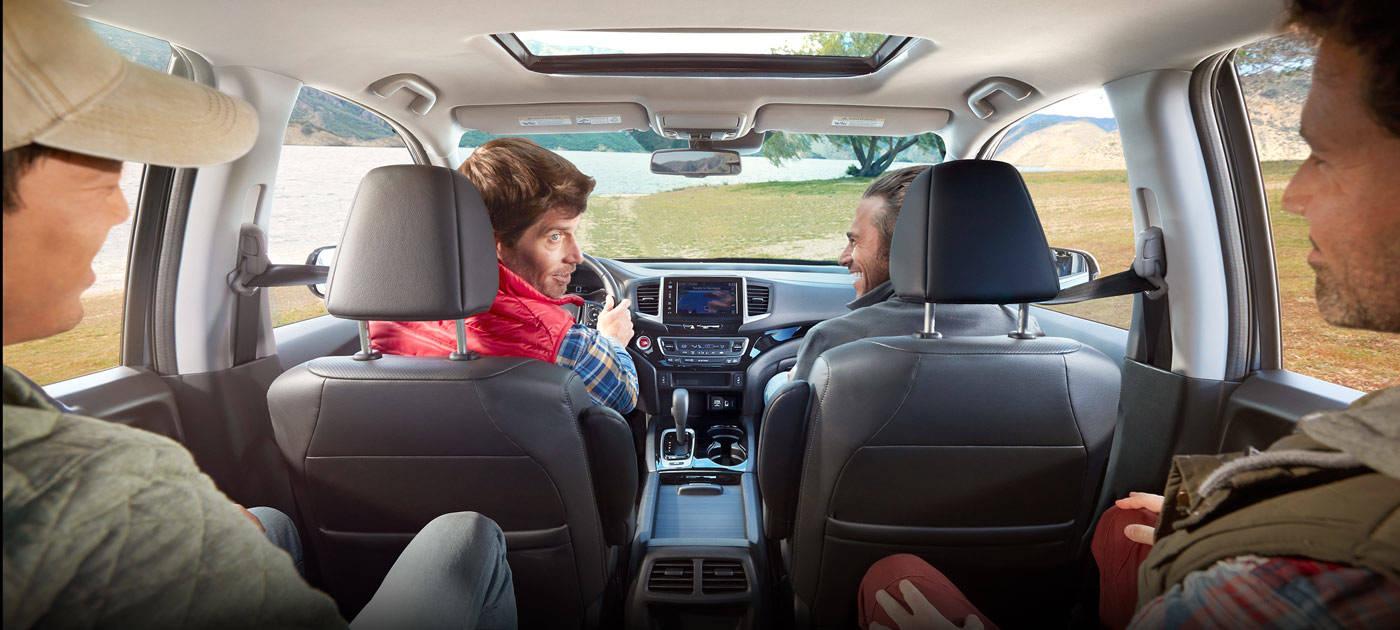 2017 Honda Ridgeline Adventures in Comfort