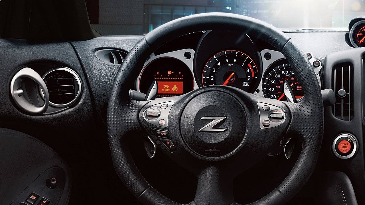 2017 Nissan 370Z Coupe Information Layer
