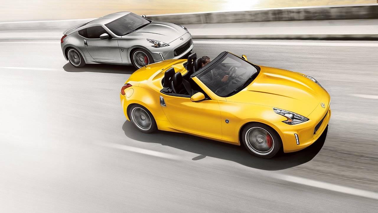 2017 Nissan 370Z Roadster Handling & Brakes