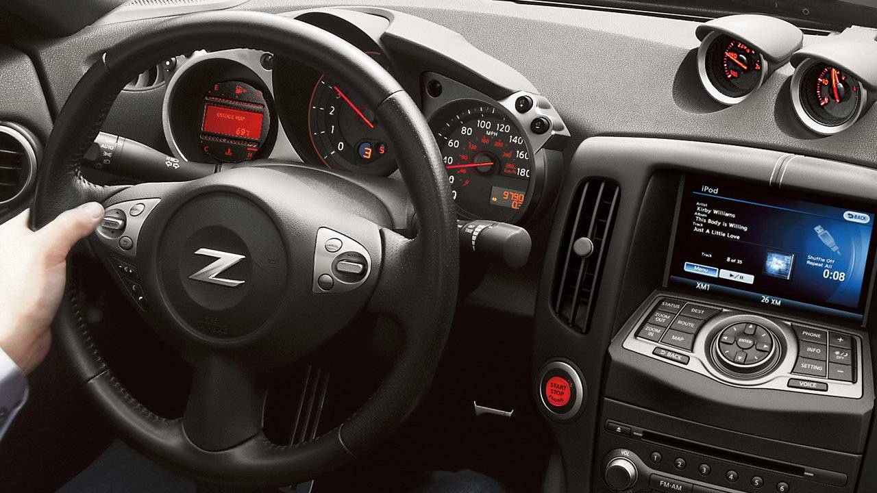 2017 Nissan 370Z Roadster Information Layer