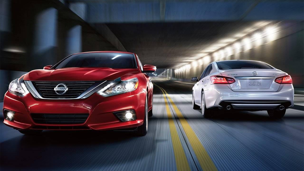 2017.5 Nissan Altima Sedan MAKE A BRILLIANT ENTRANCE