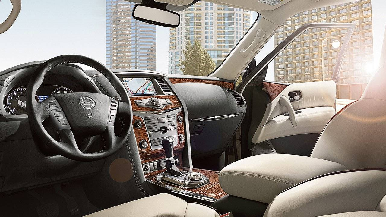 2017 Nissan Armada DISTINCTIVE INTERIOR