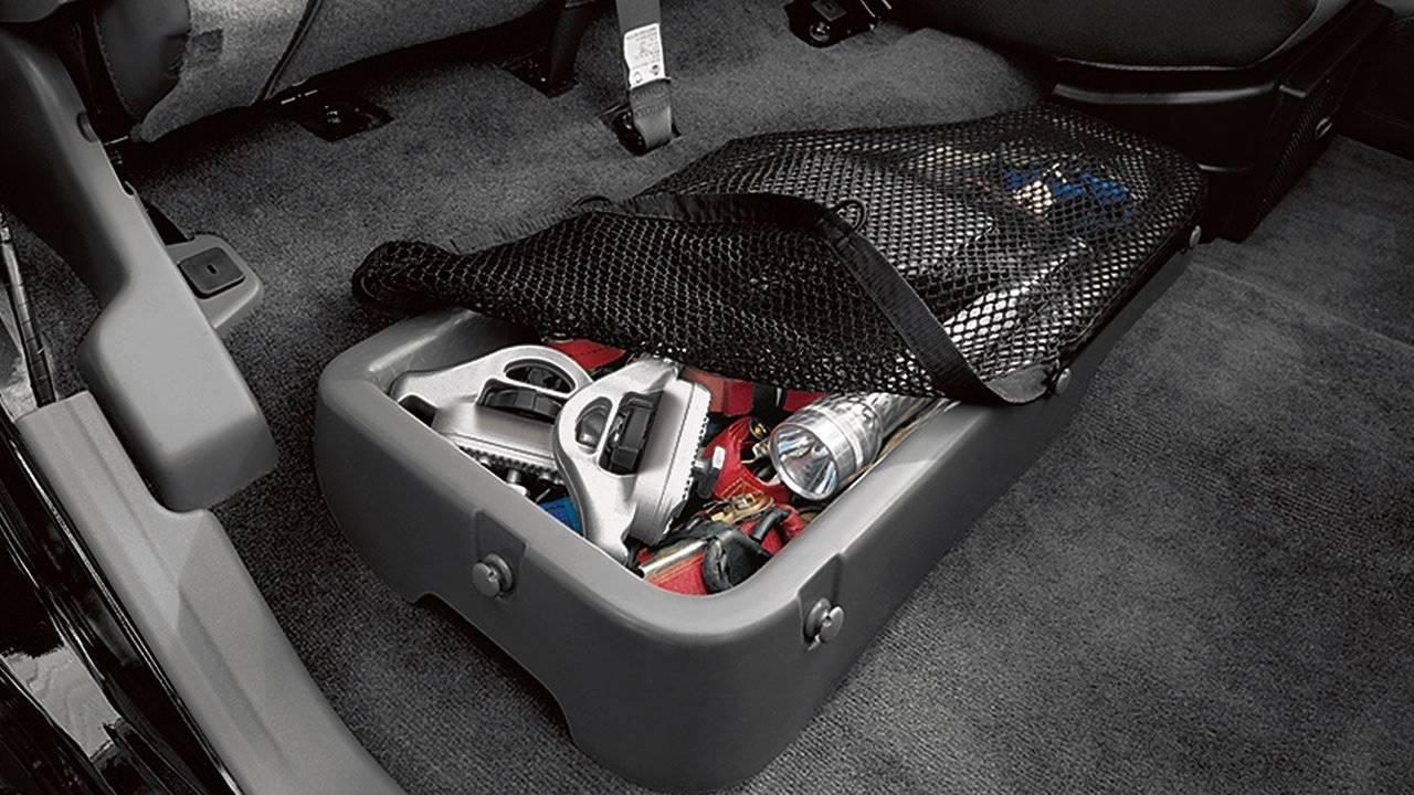 2017 Nissan Frontier King Cab Rear Under-seat Storage Bin