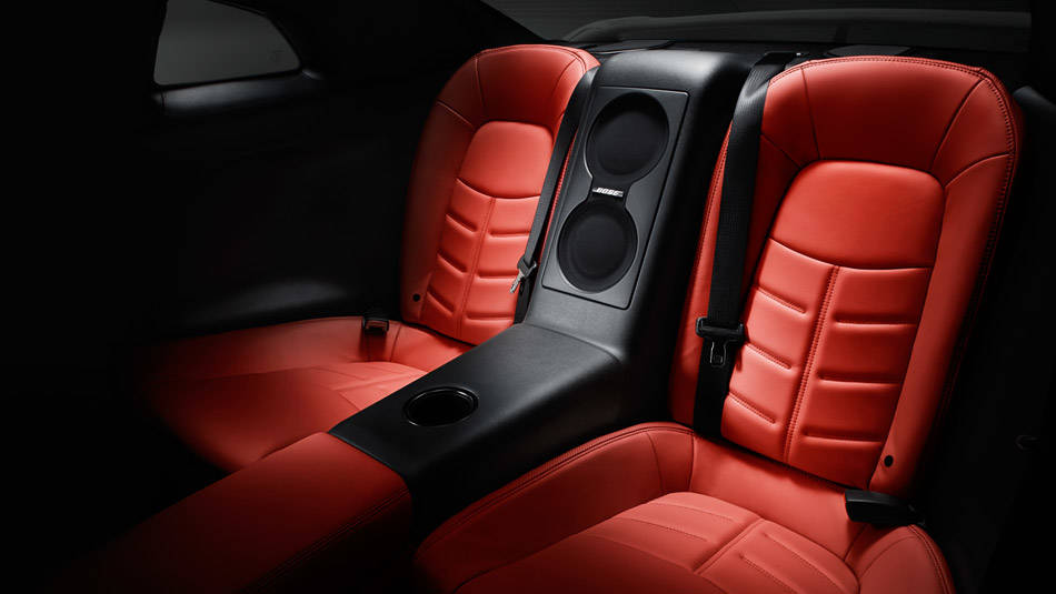 2017 Nissan GT-R Bose audio system