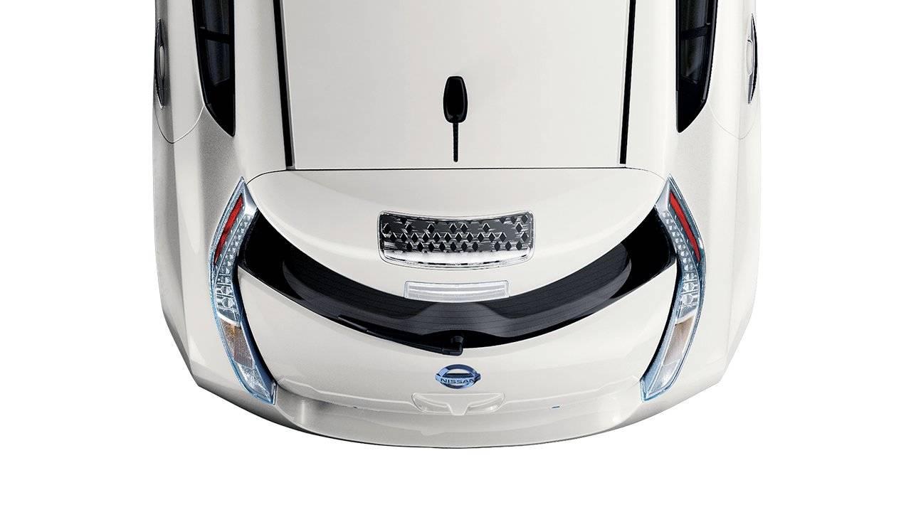 2017 Nissan Leaf Solar Spoiler