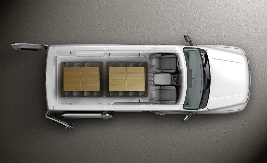 2017 Nissan NV Cargo High Roof Interior Capacity