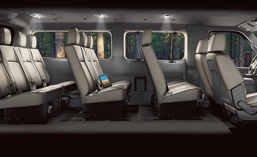 2017 Nissan NV Passenger Interior