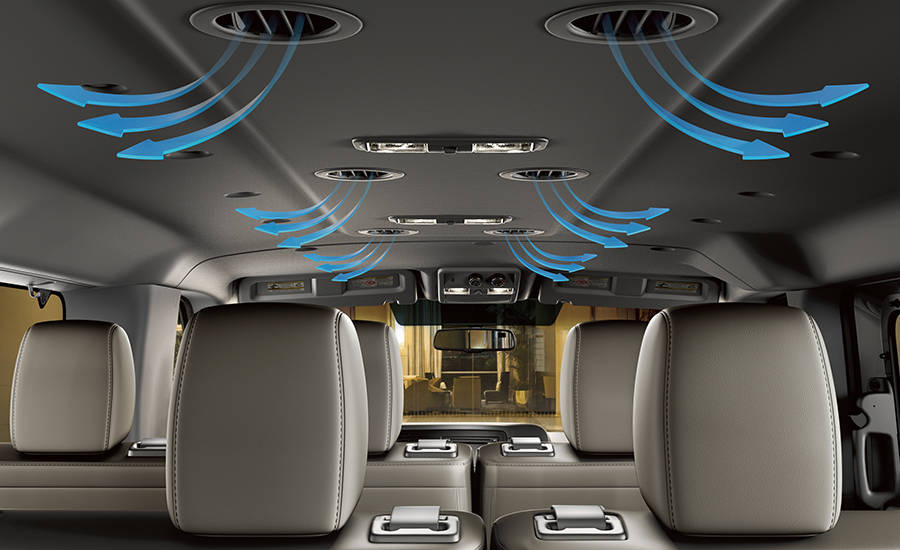 2017 Nissan NV Passenger Heating and cooling