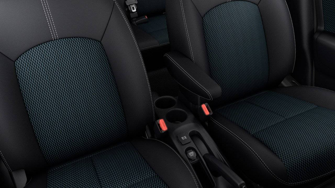 2017 Nissan Versa Note DOUBLE-STITCHED SEATS