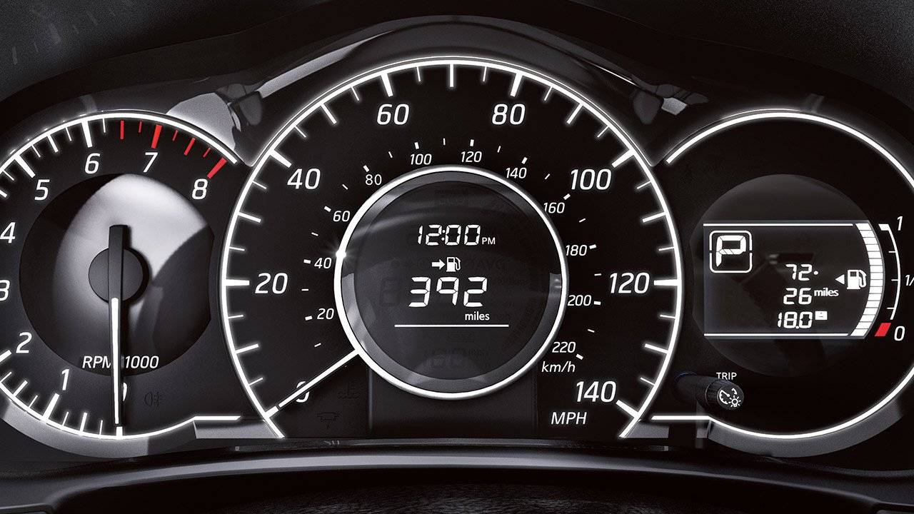 2017 Nissan Versa Note AVAILABLE FINE VISION GAUGES