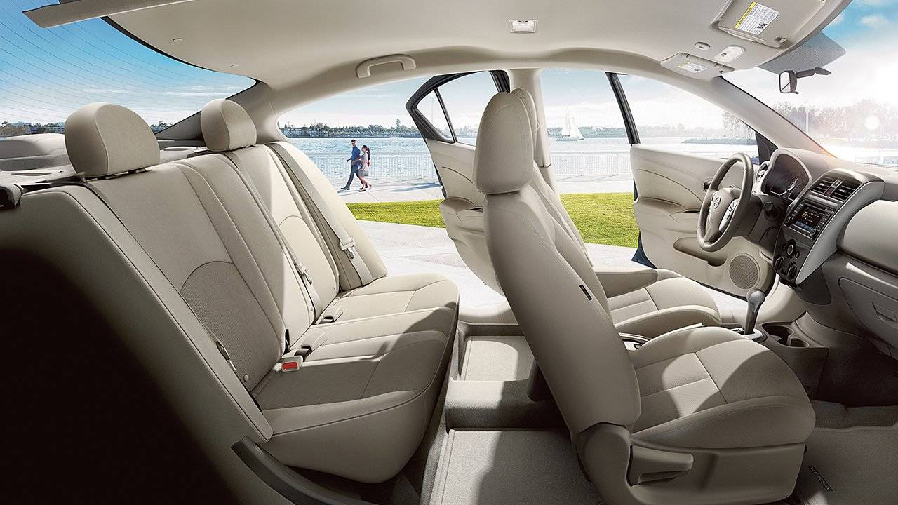 2017 Nissan Versa Sedan Interior