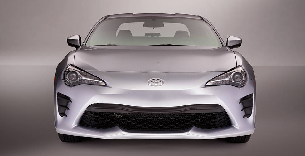 2017 Toyota 86 Restyled front and rear