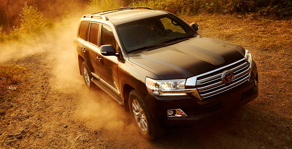 2017 Toyota Land Cruiser An impressive design