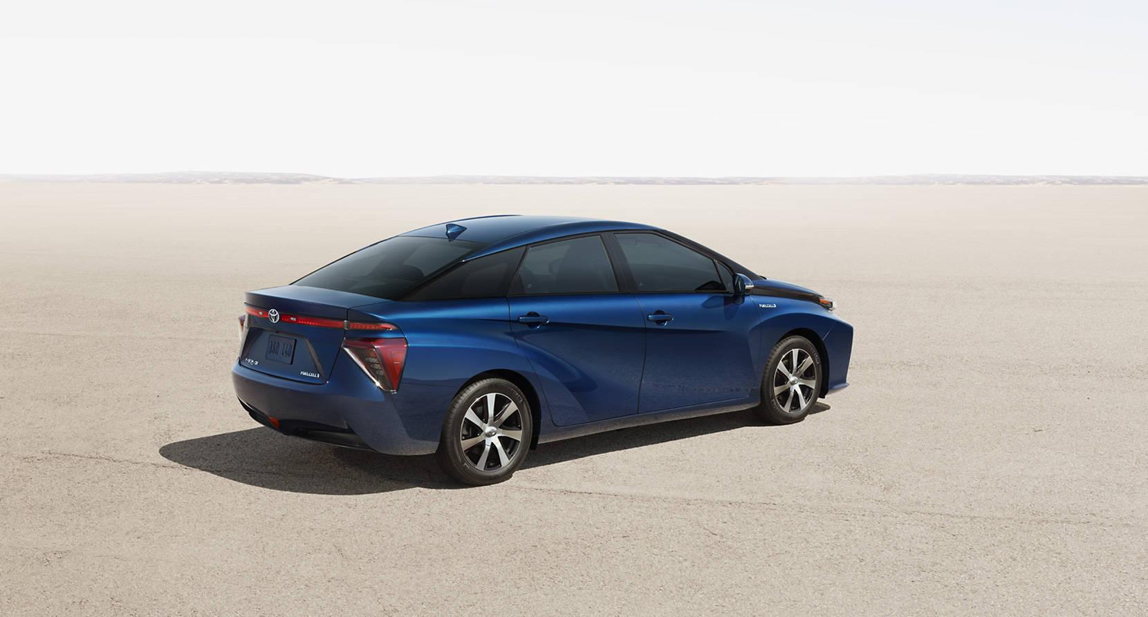 2017 Toyota Mirai Exterior