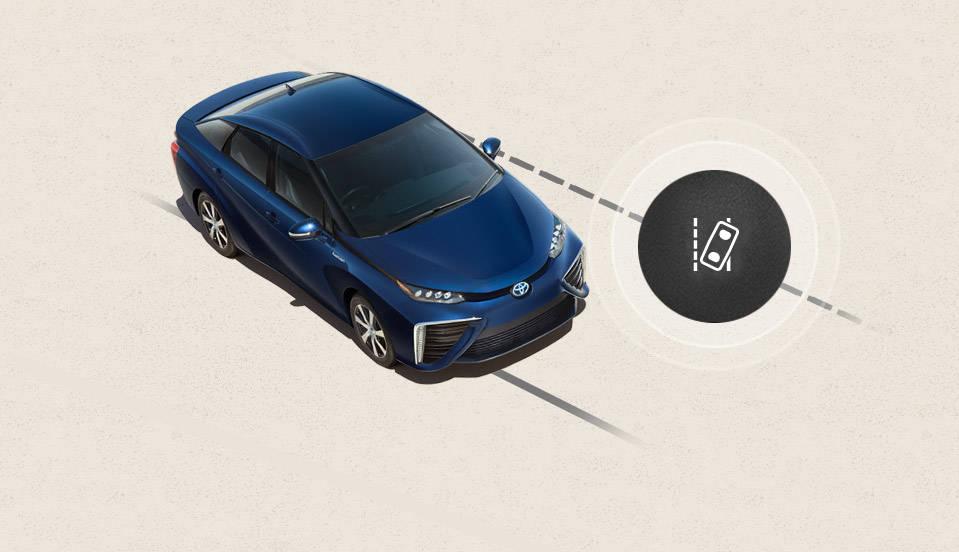2017 Toyota Mirai Lane Departure Alert