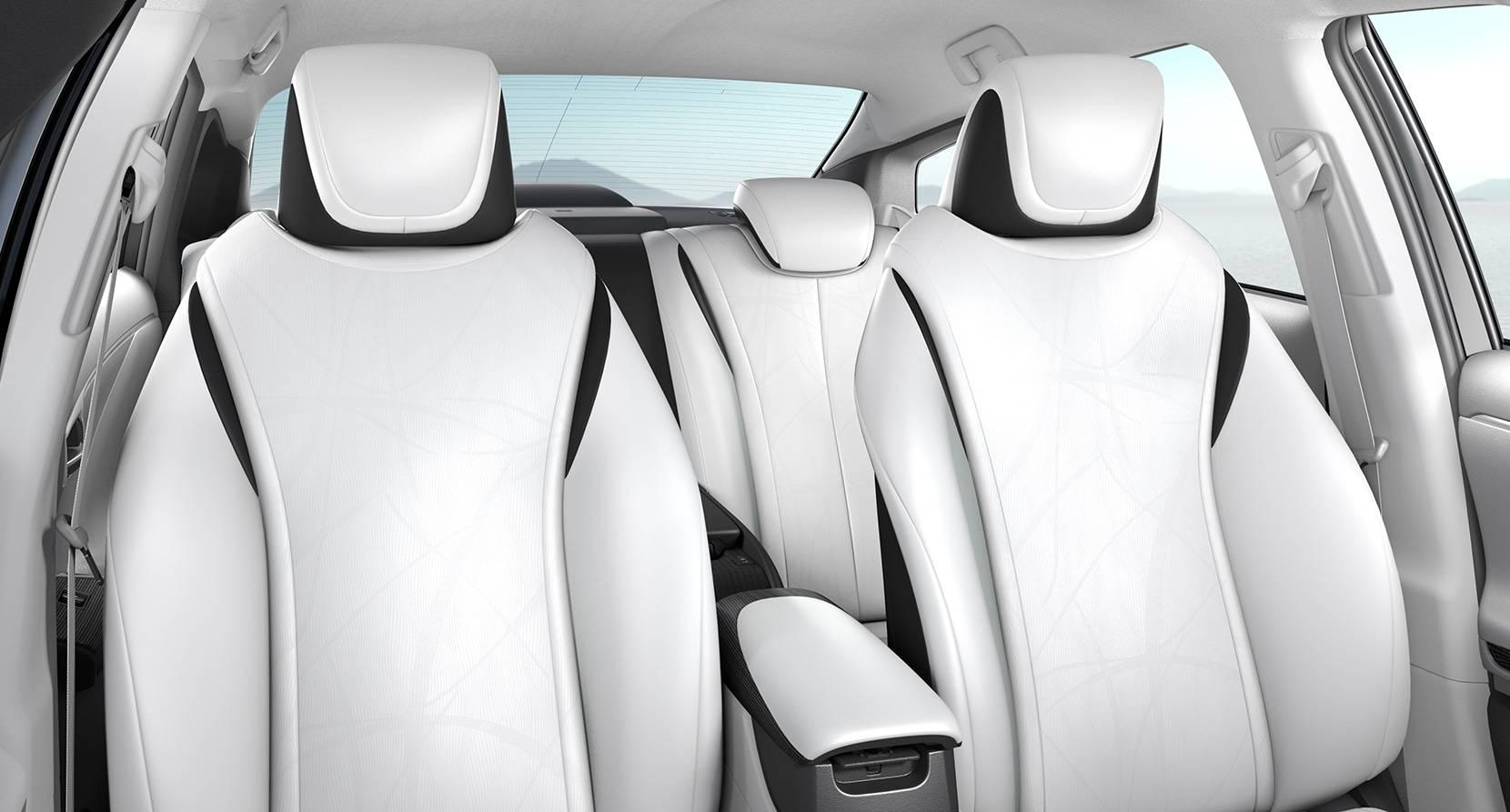 2017 Toyota Mirai SofTex Seats With Power Lumbar