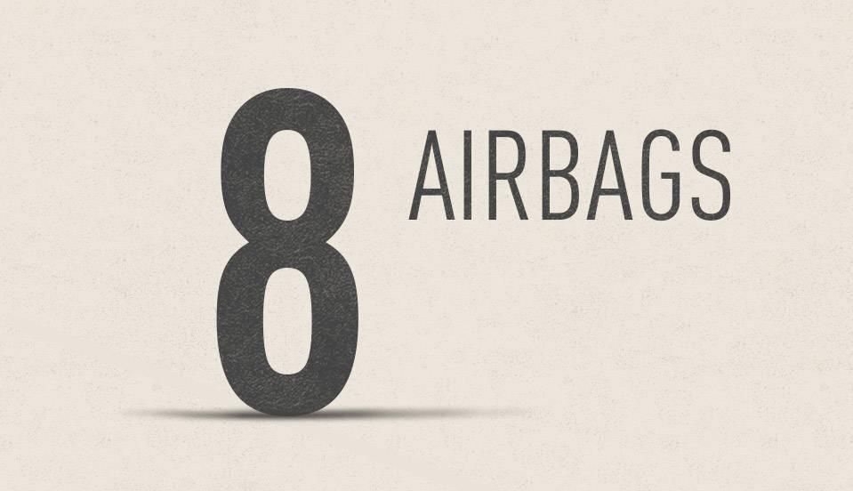 2017 Toyota Mirai Eight SRS Airbags