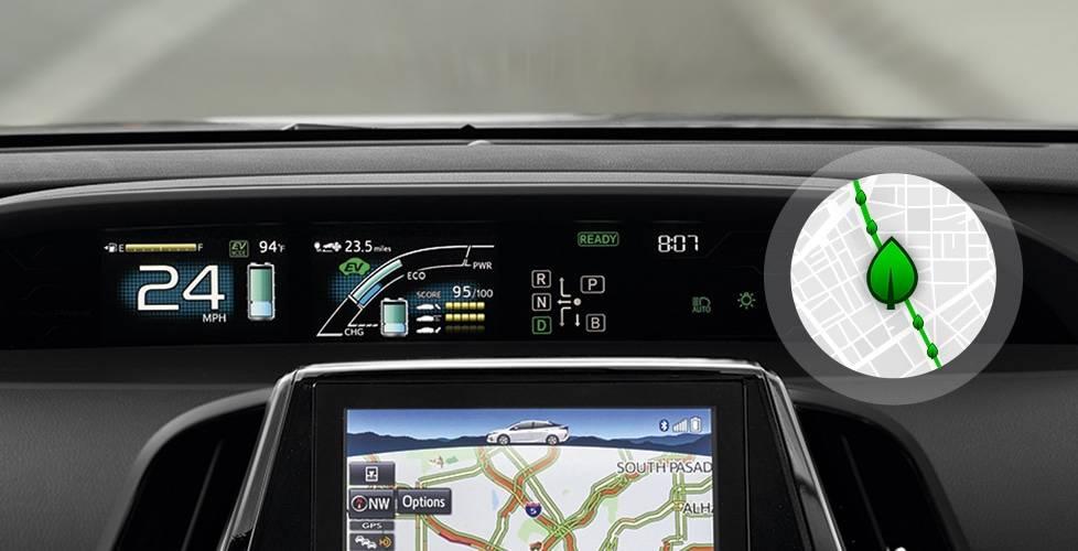 2017 Toyota Prius Prime Intelligent drive coach