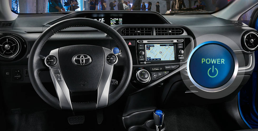 2017 Toyota Prius c Smart Key System, Push Button Start