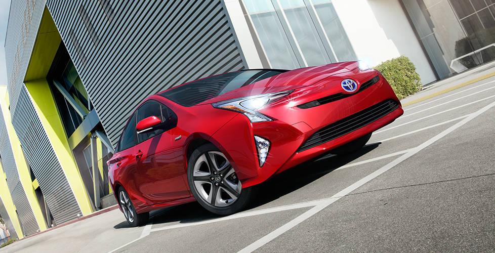 2017 Toyota Prius A purposeful stance