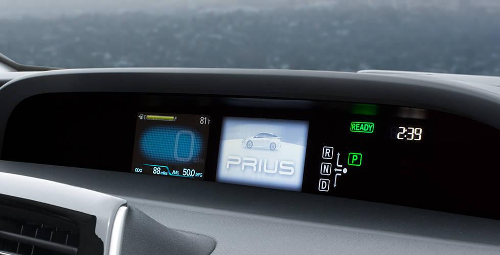 2017 Toyota Prius 4.2-in. color dual MID