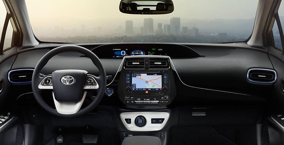 2017 Toyota Prius Futuristic interior