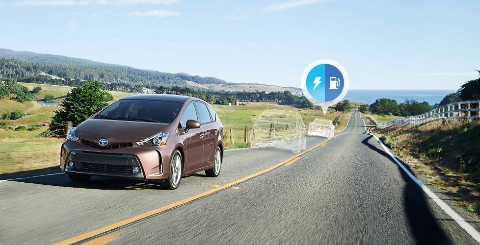 2017 Toyota Prius v Heavy acceleration