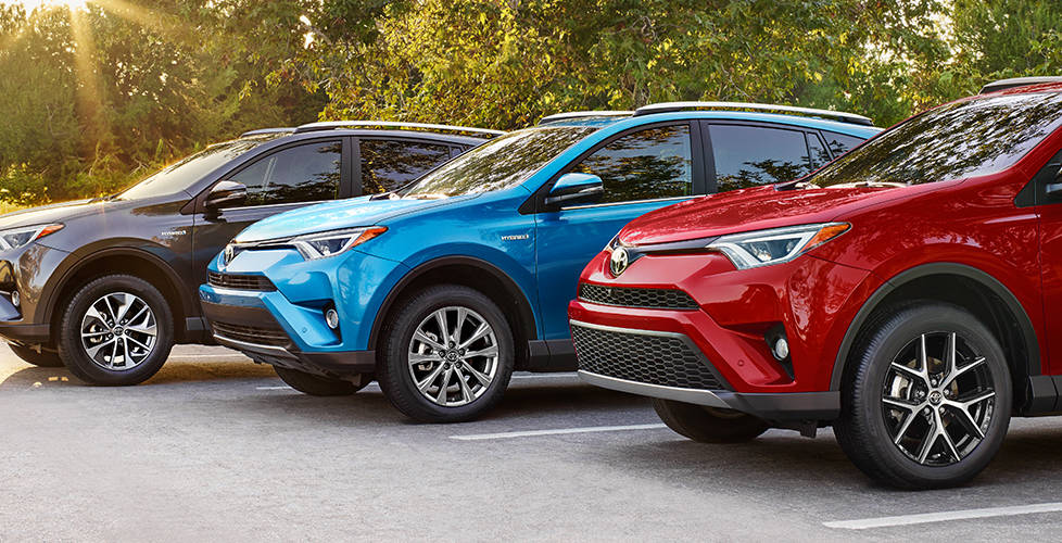 2017 Toyota Rav4 Hybrid At Miller Toyota Of Anaheim The