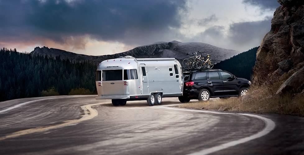 2017 Toyota Sequoia Trailer-Sway Control