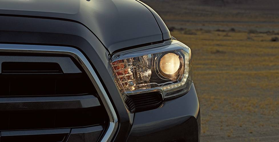 2017 Toyota Tacoma Double Cab Available LED DRL with projector-beam headlights