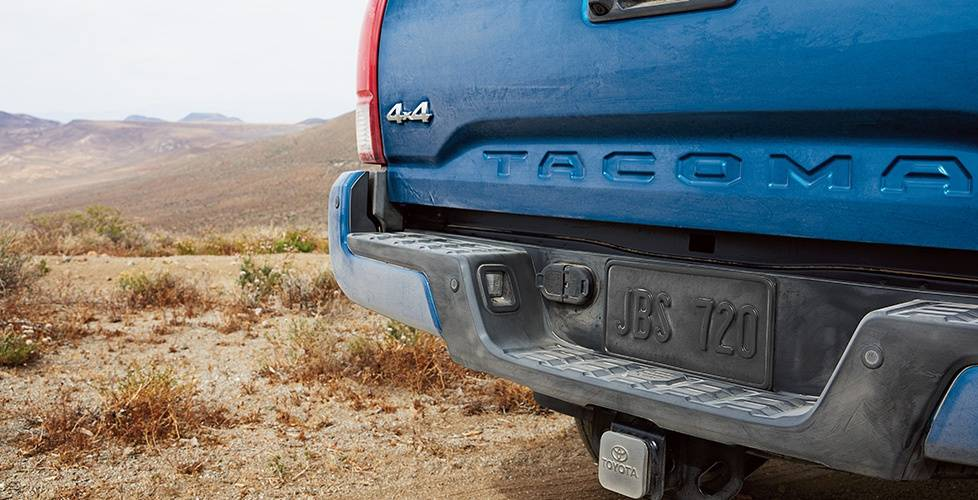 2017 Toyota Tacoma Double Cab Embossed tailgate