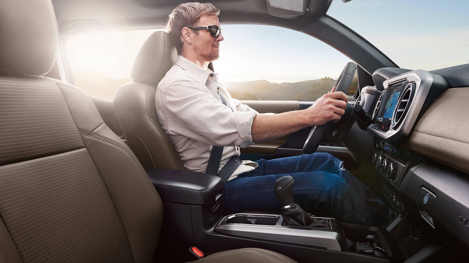 2017 Toyota Tacoma Access Cab Interior
