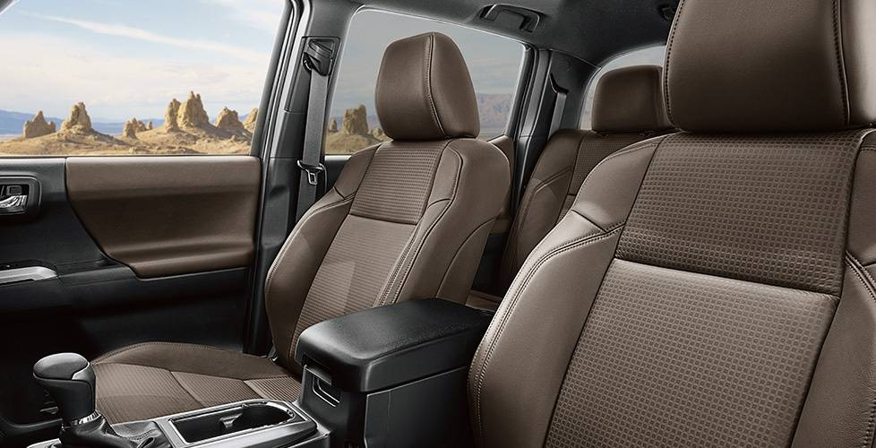 2017 Toyota Tacoma Access Cab A tough and refined interior